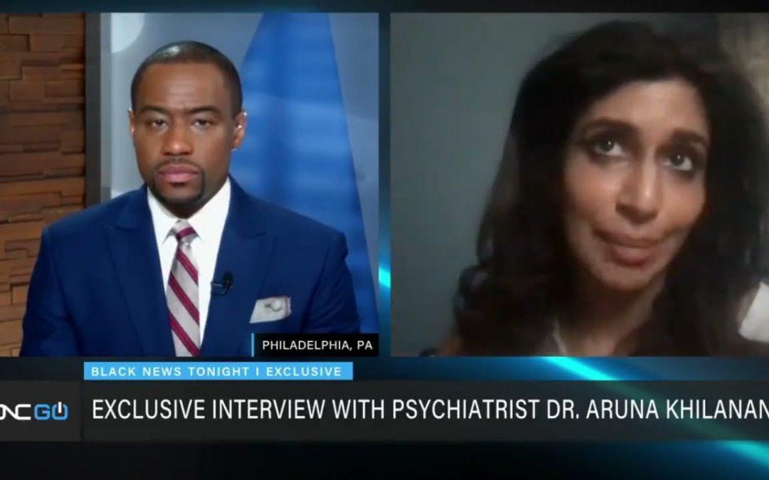 "Dr. Aruna Khilanani Tells Lamont Hill That White People are ""Psychopathic"""