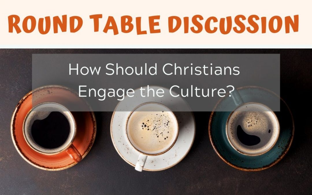 How Should Christian Engage the Culture?