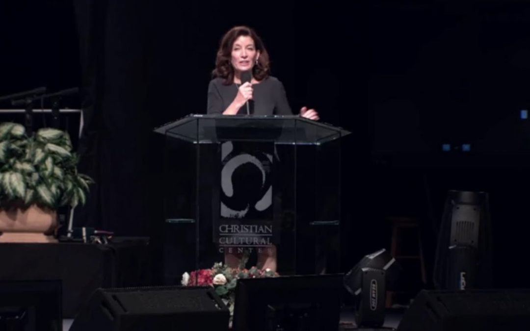 Is NY Governor Kathy Hochul (D) a Prophetess?