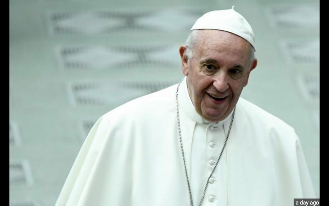 The Pope Calls Europeans Who Love Their Countries 'Racist'